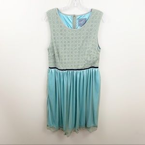 "ModCloth ""Don't go breaking my Heart"" A-Line dress"